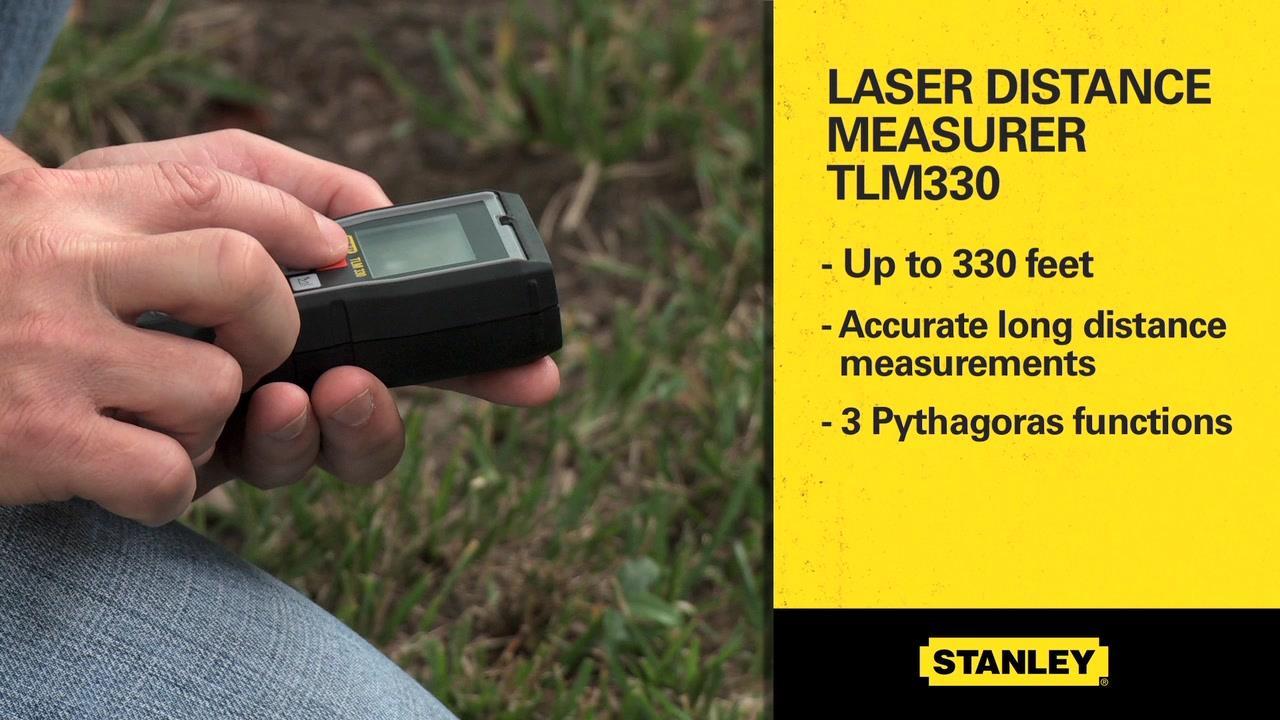 STANLEY® TLM330 Laser Distance Measurer | STANLEY® Tools