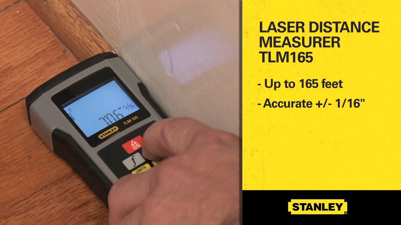 STANLEY® TLM165 Laser Distance Measurer | STANLEY® Tools