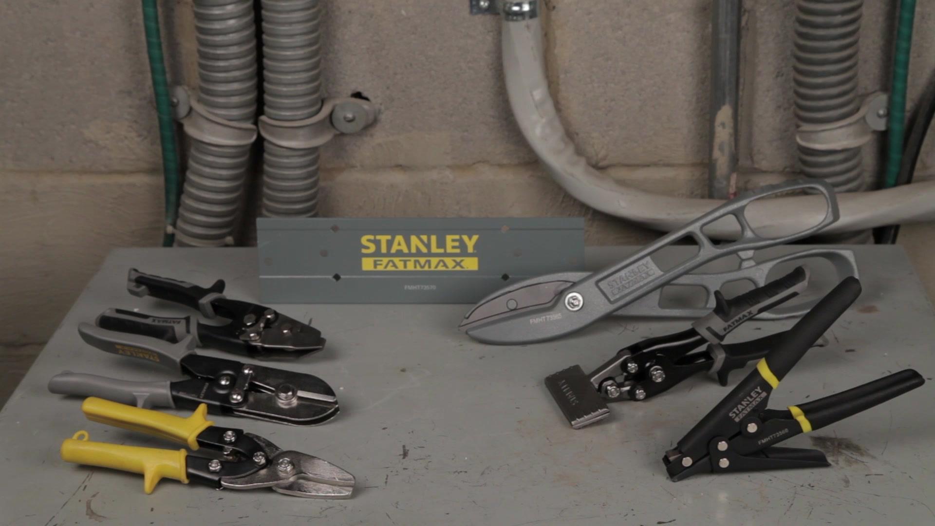 STANLEY® FATMAX® Snips | STANLEY® Tools