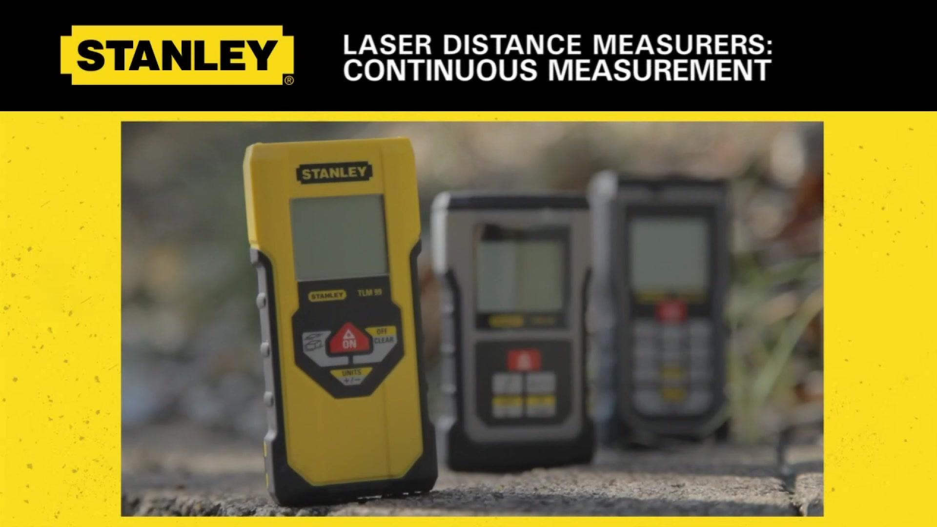 STANLEY® Continuous Measurement on Stanley LDM's | STANLEY® Tools