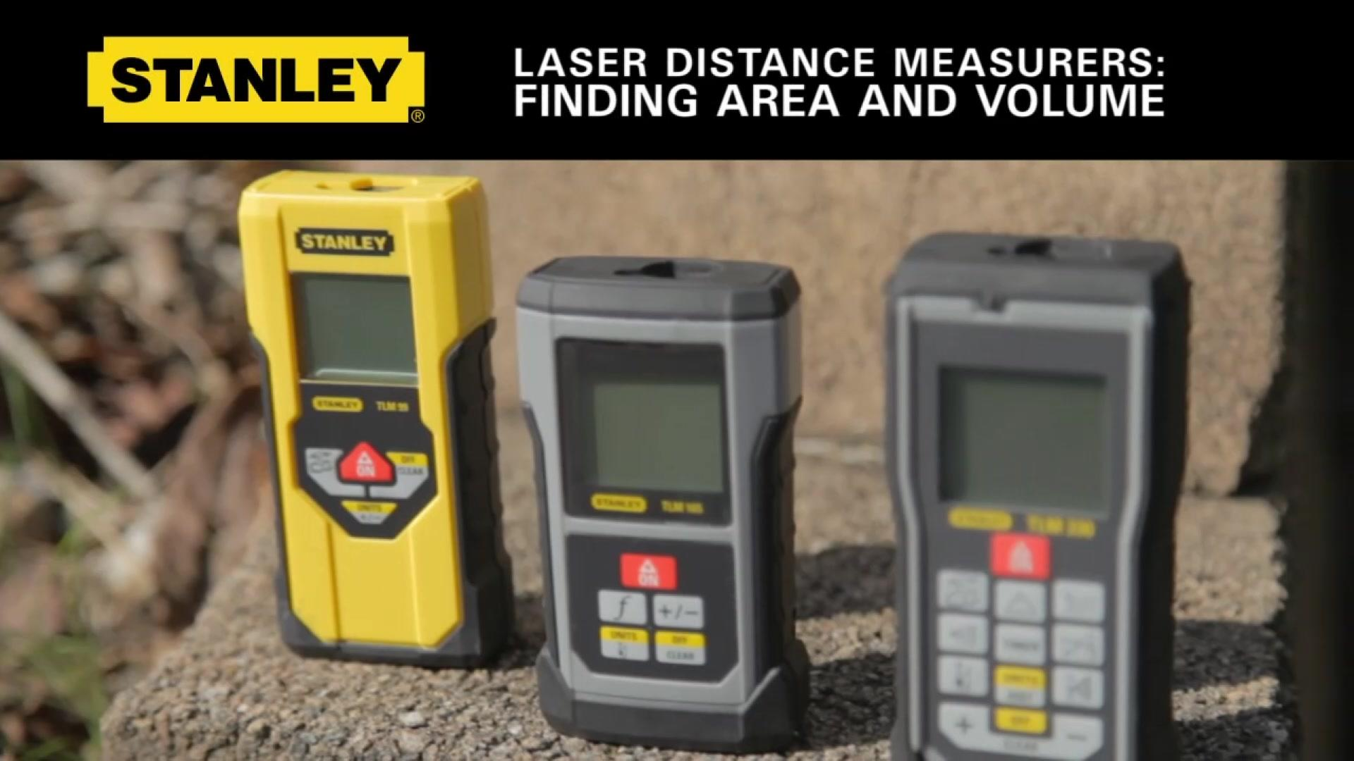 STANLEY® Finding Area and Volume on Stanley LDM's | STANLEY® Tools