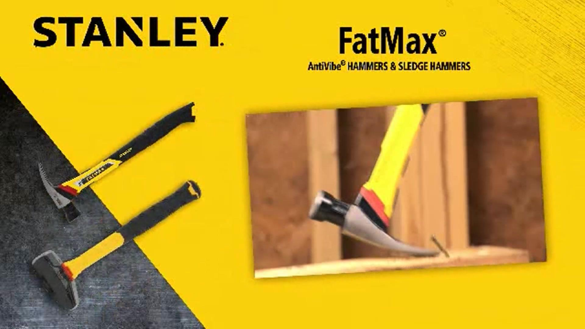 17 oz Anti-Vibe® FATMAX® Framing Hammer - FMHT51244 | STANLEY Tools