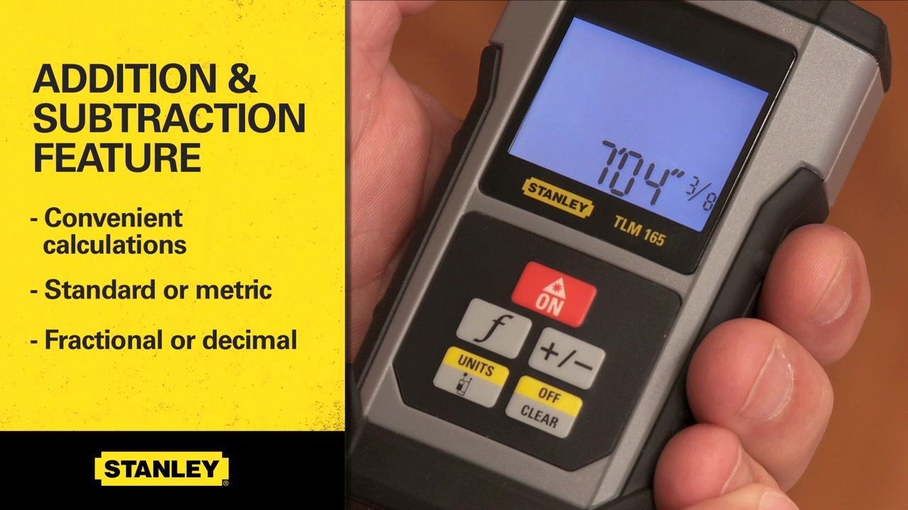 STANLEY® TLM99 Laser Distance Measurer  | STANLEY® Tools