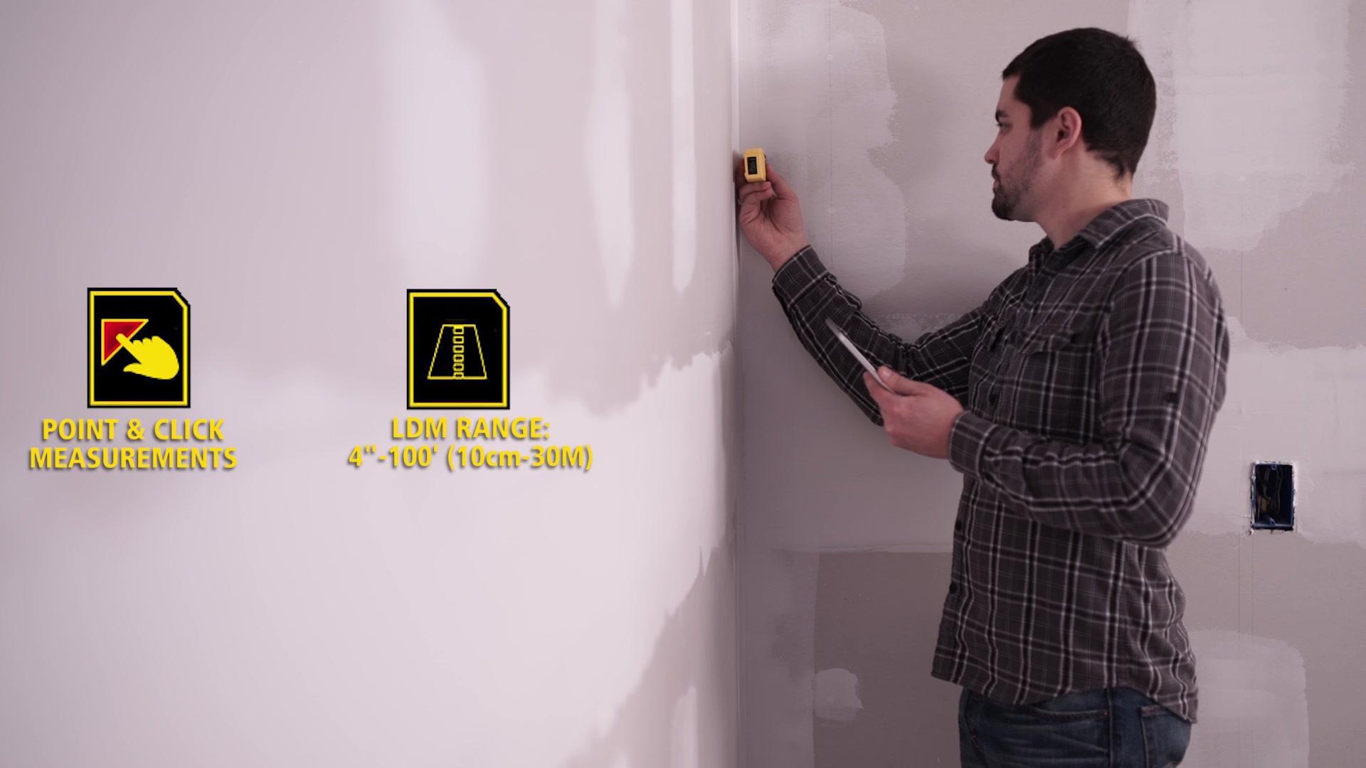 STANLEY® TLM99s and Stanley® Floor Plan App   STANLEY® Tools