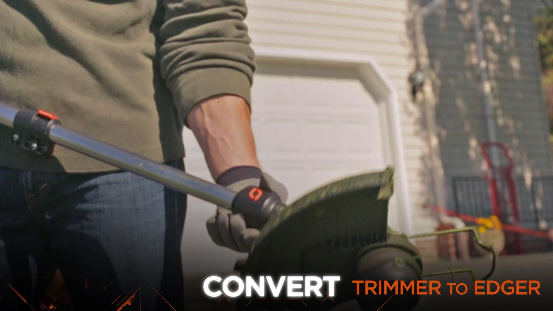 LST540 | 40V MAX* Lithium High Performance Trimmer/Edger with Brushless Technology | BLACK+DECKER