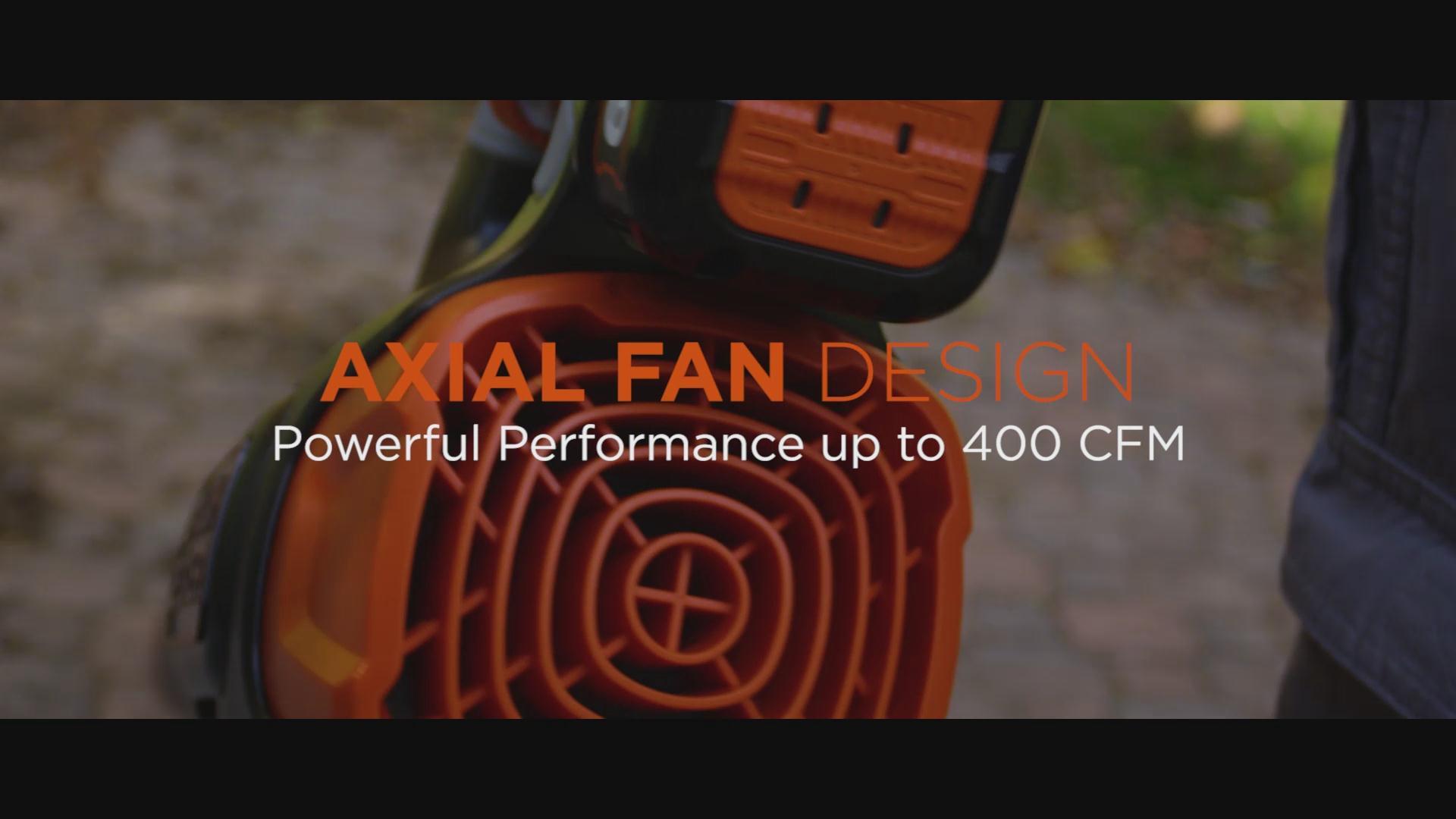 BLACK+DECKER 60V MAX* POWERBOOST™ Cordless Blower (LSW60C)